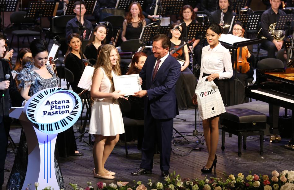 Лауреаты конкурса piano astana
